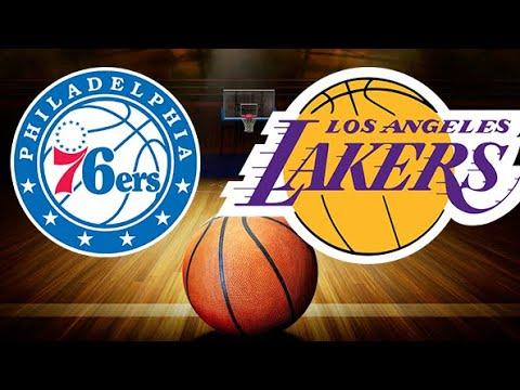 NBA Live Stream: Philadelphia 76ers Vs Los Angeles Lakers (Live Reactions & Play By Play)