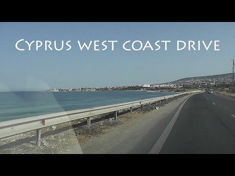 CYPRUS: west coast drive [HD]