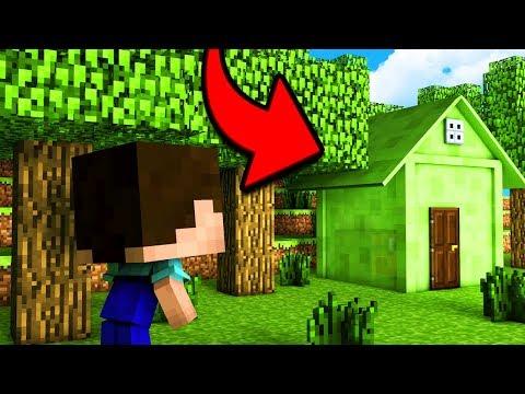 НУБ НАШЕЛ СЕКРЕТНЫЙ ДОМ ИЗ СЛИЗНЯ В Майнкрафт Нубик против зомби Minecraft троллинг нуба Мультик