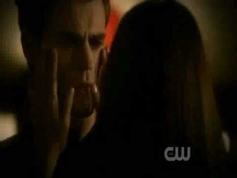 The Vampire diaries elena and Stefen love scene