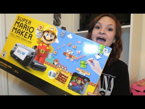 Super Mario Maker Wii U Bundle Unboxing! |...