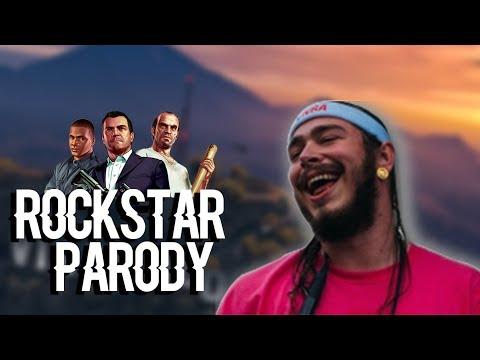 """Post Malone - """"Rockstar"""" GTA 5 PARODY"""
