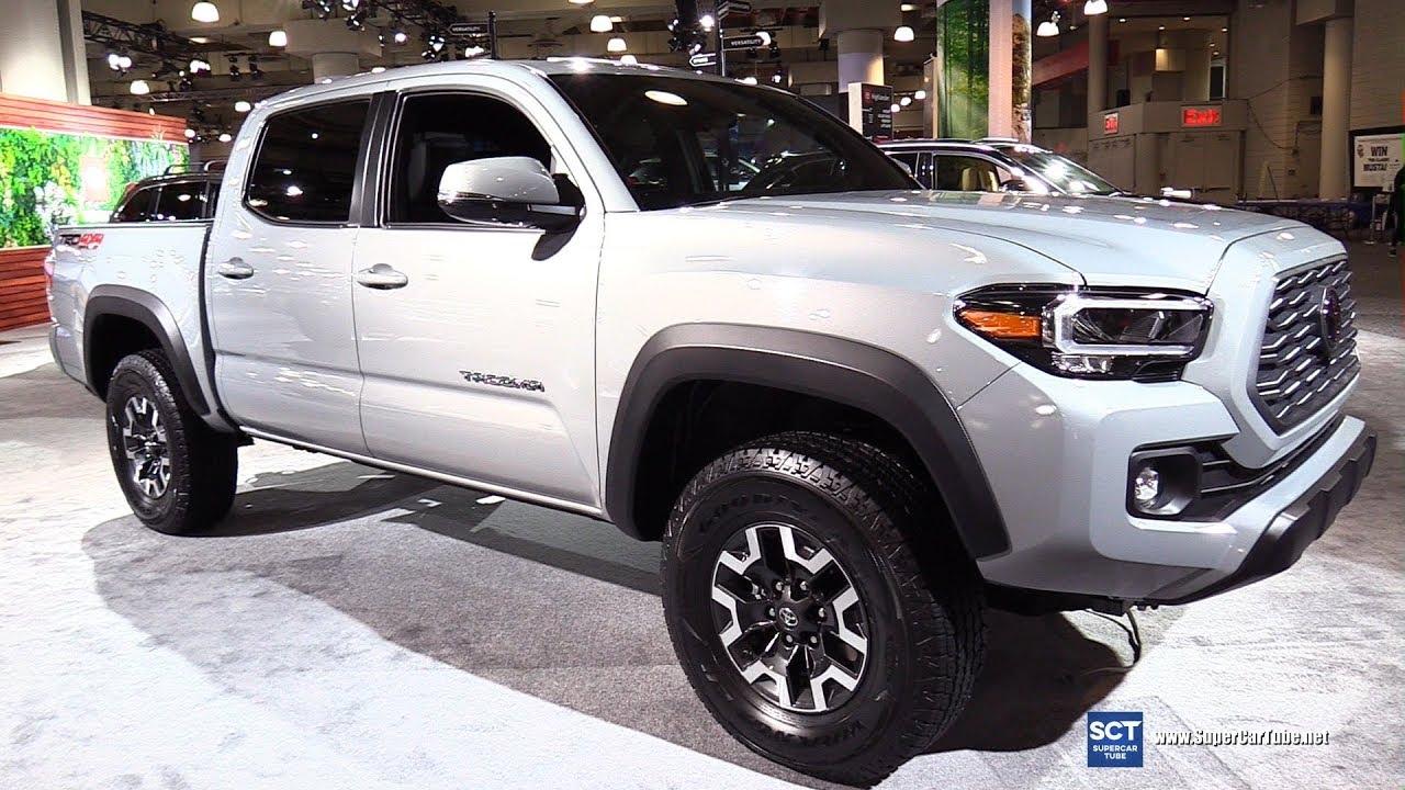 2020 Toyota Tacoma Trd Off Road Exterior And Interior Walkaround 2019 New York Auto Show