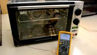 Kaiser 威寶KH-42II 頂級大廚全功能烤箱改裝前溫度測試