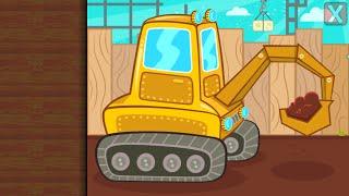 Мультфільм для дітей розвиваючий - Пазл з машинками - РОБОЧІ МАШИНИ
