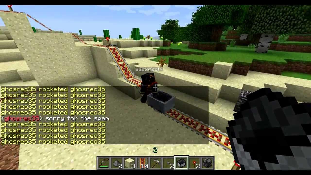 Minecraft - Crappycoaster - Third Person HD