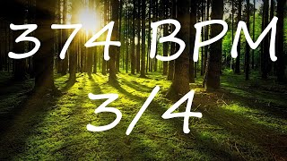 374 BPM 3/4 Claves Metronome