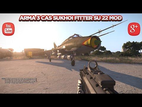 Arma 3 Cas Sukhoi Fitter Su 22 Mod