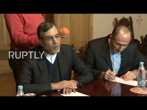 LIVE: Russian Deputy FA Minister meets Iranian counterpart: protocol