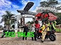 Motorcycle legend Ted Simon rides in Colombia with Motolombia