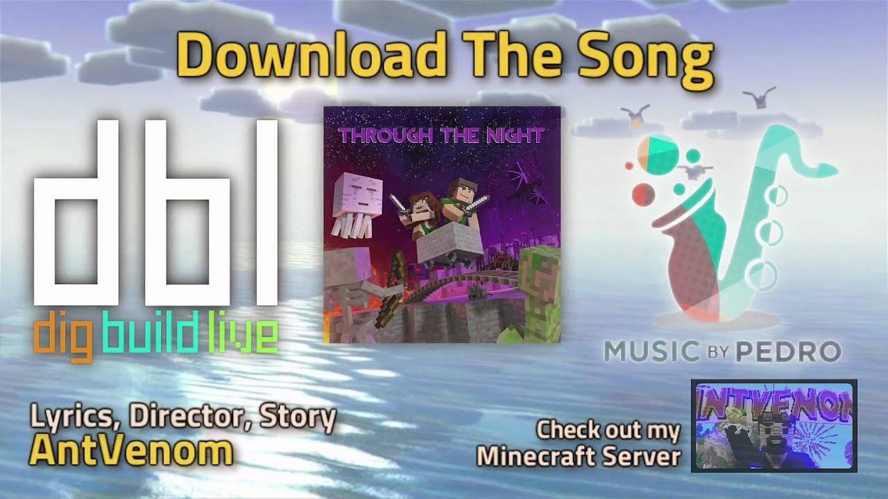 Minecraft Song Through The Night Original X2 X4 X8 X16