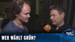 """Olaf Schubert fragt: """"Welche Chancen haben die Grünen in Ostdeutschland?"""""""