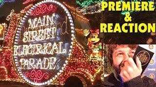 Repeat youtube video DISNEYLAND MAIN STREET ELECTRICAL PARADE (Premiere Night & REACTION) Jan 19, 2017