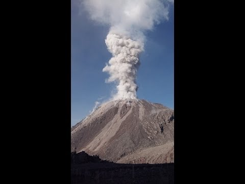 Santiaguito Volcano: Explosions, Earthquakes, and Rockfalls