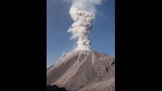 Santiaguito Volcano: Explosions, Earthquakes, and Rockfalls