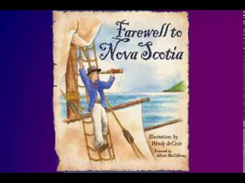 Farewell to Nova Scotia - sing along