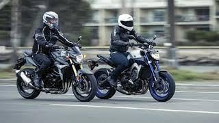 Suzuki GSR750 vs Triumph Street Triple - MOTOR REVIEW