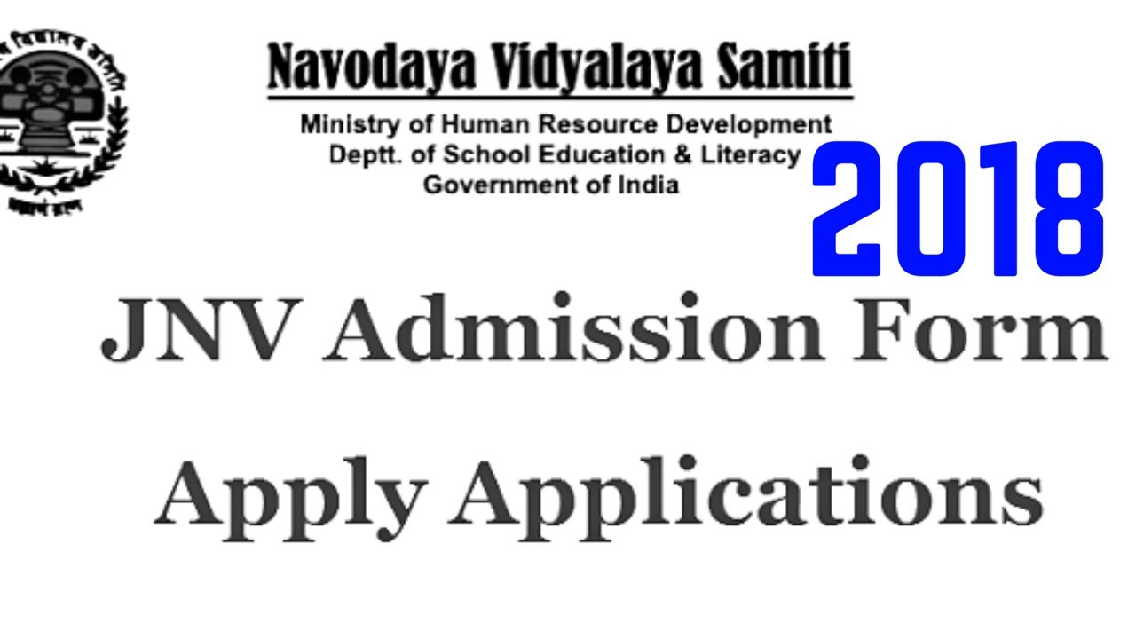 navodaya admissions 2018 details all updates on jobs admissions