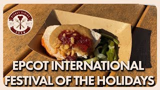 Epcot International Festival of the Holidays | Disney Dining Show | 12/06/19