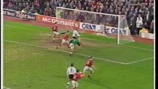 Barnsley vs Man Utd FA Cup 5th Round Replay 1998 1st Half