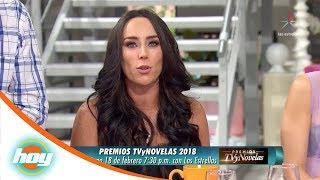 Inés Gómez Mont presentará los Premios TVyNovelas 2018   Hoy