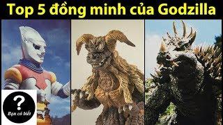 Top 5 đồng minh tốt nhất của GODZILLA (Top 5 Godzilla Allies) - Sự thật #29 || Bạn Có Biết?