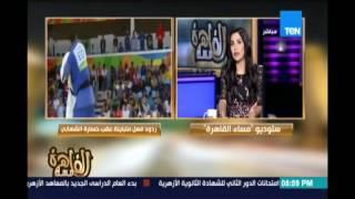 تعليق محمد بيومي عضوحزب الكرامة ورئيس التحريرصبحي عسلية حول موقف الشهابي مع اللاعب الإسرائيلي