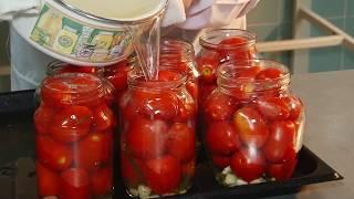 самый простой рецепт солёных помидор