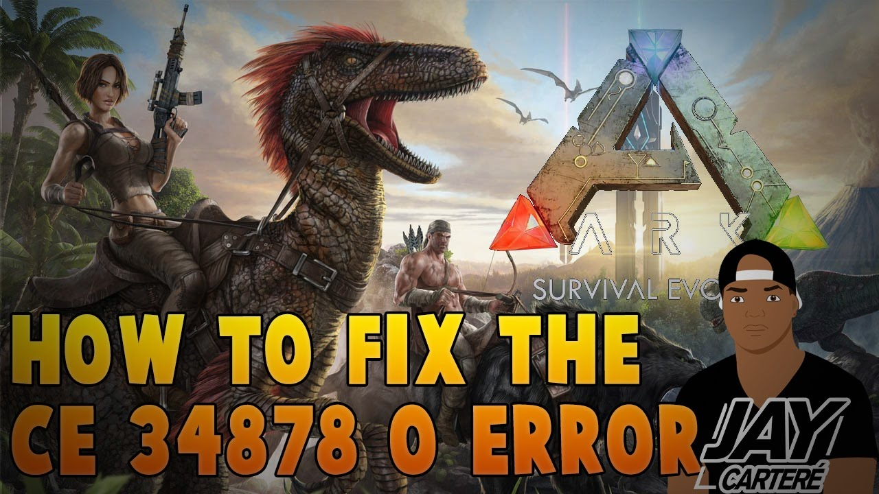 Ark Survival Evolved PS4 Tutorial - How To Fix The CE-34878-0 Error