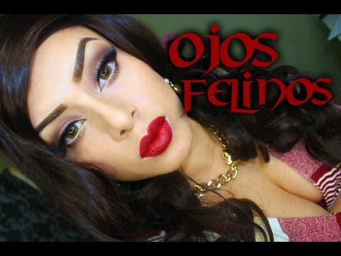 Maquillaje Ojos Felinos Elegante YouTube