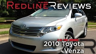 2010 Toyota Venza Review, Walkaround, Exhaust & Test Drive