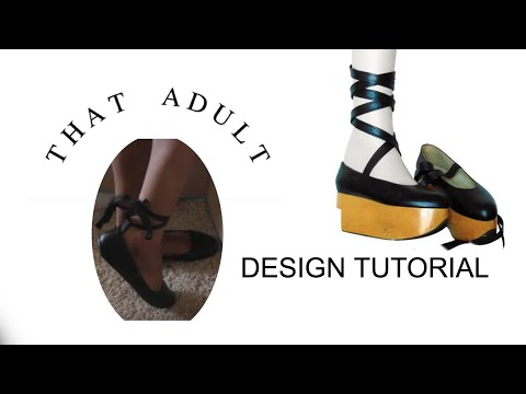 DIY Lace Up Ballet Flats From Old Flats Tutorial