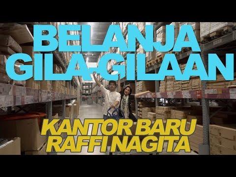 BELANJA HABIS-HABISAN UNTUK KANTOR BARU!! #RANSVLOG