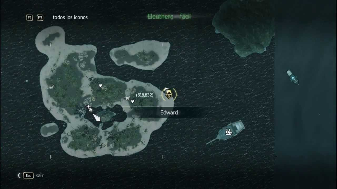 Mapa del tesoro 606835 assassins creed 4 black flag youtube gumiabroncs Gallery