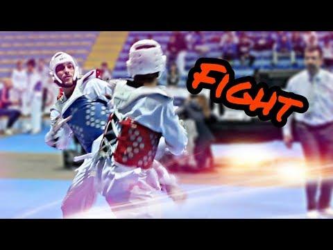 Mon 1er Combat de Taekwondo au Championnat