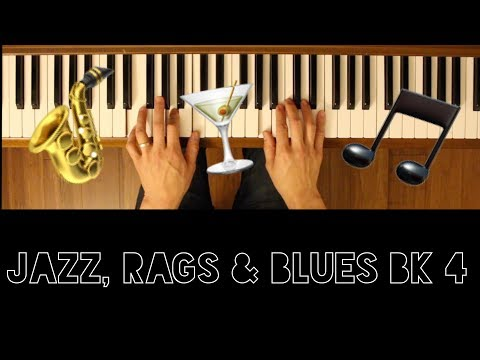 Grandview Boulevard Strut (Jazz, Rags & Blues Bk 4) [Intermediate Piano Tutorial]