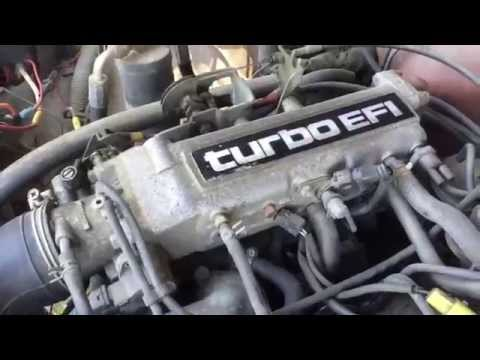 Фото к видео: Toyota 22RTE turbo truck pre tear down walk around & drive