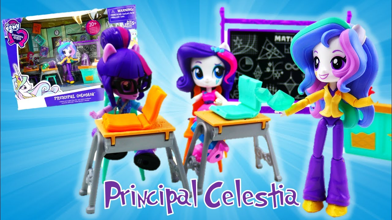 Principal Celestia Lessons And Laughs Class My Little