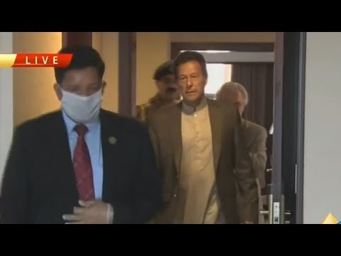 PM Imran Khan perform earth-breaking of Isolation Hospital and Infectious Diseases Treatment Center