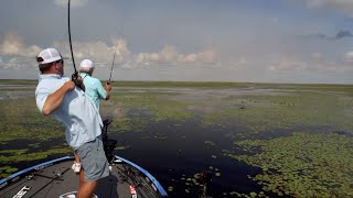 Fishing the Thick Stuff with Pops on Okeechobee
