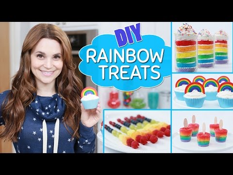 DIY RAINBOW TREATS