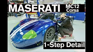 Maserati MC12 Paint Polishing and Detail