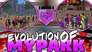 EVOLUTION OF MyPARK IN NBA 2K (NBA 2K13 - 2K18)