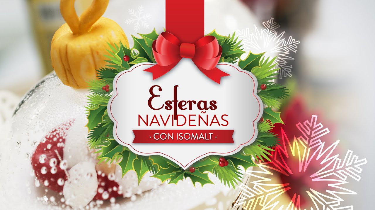 Esferas navide as con isomalt youtube - Esferas de navidad ...