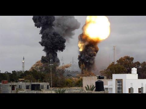 Breaking: Egypt strikes terror camps in Libya