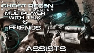 Let's Play Ghost Recon Future Soldier Multiplayer with Friends - Assists! - Conflict - HD