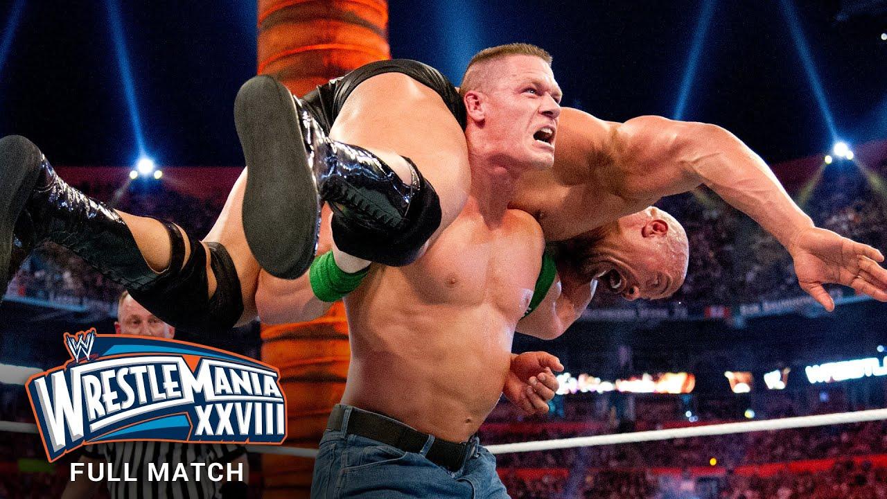 Download FULL MATCH - The Rock vs. John Cena: WrestleMania XXVIII