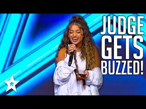 Judge Sings God Is A Woman By Ariana Grande on Israels Got Talent
