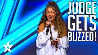 Judge Sings God Is A Woman By Ariana Grande on Israel's Got Talent