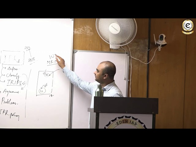 EDEN lAS Science & Tech class by Tirthankar Sir  UPSC / IAS Mains - class-2